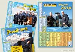 Trettler Jahreskalender, Fotografie